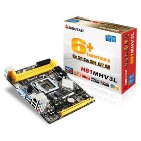 Tarjeta Madre Biostar H81mhv3l Intel Inside Core