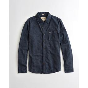 098b1bd11ae5c Camisa Hollister - Camisa Masculino Azul marinho no Mercado Livre Brasil