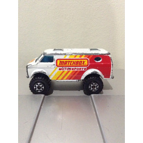 Carrito Matchbox Modelo Chevy Van 4x4