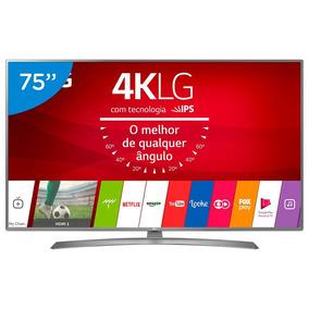 Smart Tv Led 75 Polegadas Lg 75uj6585 Ultra Hd 4k Wifi Com C