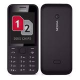 Nokia 208,02 Chip,3g,rádio,novo Na Caixa,câmera,3.5g,anatel