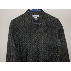Camisa Sport Fashion Claiborne De Rayon Importada Talla L