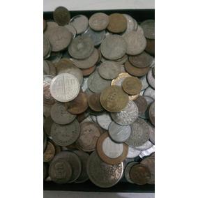 250 Moedas Nacionais (prata,bronze) Frete Grátis