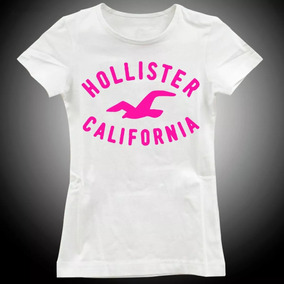 b00a60763f Camiseta Hollister Feminina - Camisetas Manga Curta para Feminino no ...