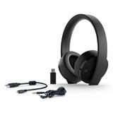 Headset Sony Gold Wireless 7.1 Ps4 Com Microfone Embutido