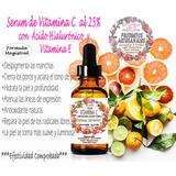 Serum Vitamina C Al 25%+acido Hialuronico/desmanchador /30ml