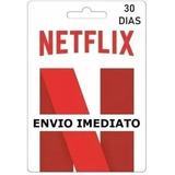 Cartão Pre-pago Presente Netflix R$ 9,99 Conta