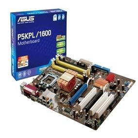 Placa Mãe Asus P5kpl/1600 Funcionando - Trocar Capacitor