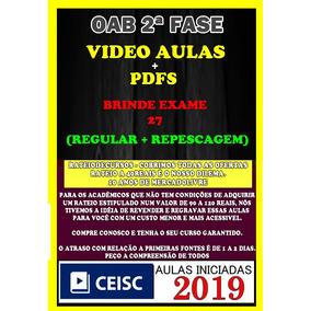 Combo Oab Xxviii + Xxvii - Ceisc 2019