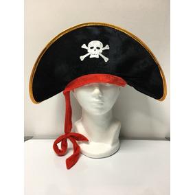 Sombrero Pirata Capitan Disfraz Fiesta Bodas Halloween