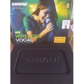 Microfono Inalambrico Shure Sm 58 Blx 24 Nuevo