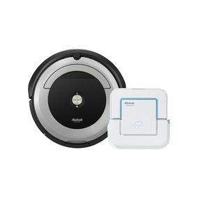 Irobot Roomba 690 + Braava Jet - Combo Oferta!