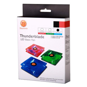 Fan Cooler Thermaltake Thunderblade 80mm Led Azul