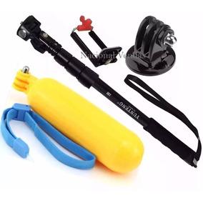Bastão Câmera Gosport 1,23cm + Boia Mergulho Boia Flutuante