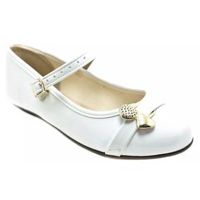 aaf3a2ab5 Sapato Boneca Verniz 25 Branco Menina - Sapatos no Mercado Livre Brasil