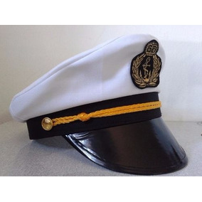 Chapeu Marinheiro Quepe Boina Capitao Fantasia Carnaval