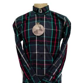 Camisa Country 2k Jeans Manga Longa Ref.3030 Xadrez 84e6337e1e1
