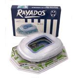 Rompecabezas 3d Estadio De Rayados De Monterrey Con Luz Led