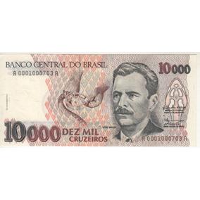 Cédula De 10000 Cruzeiros - Frete Grátis!