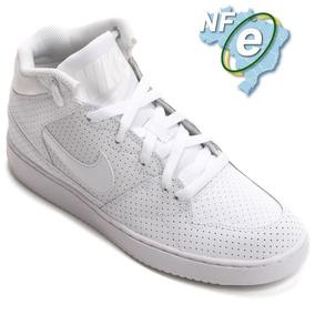7ae714b5e1e Tenis Nike Air Priority Mid Masculino Branco N 42 + Nfe