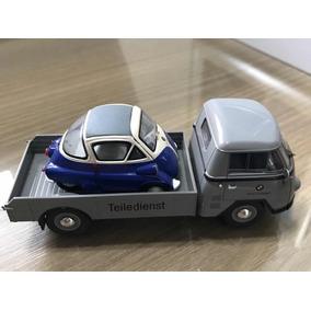 Miniatura Bmw Isetta + Caminhão Bmw T.matador - Raro Schuco