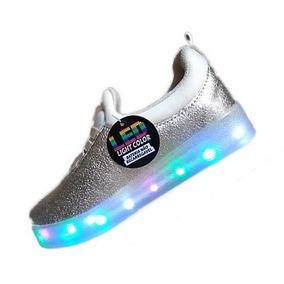 Tênis Com Luzes De Led Impacto Glitter Super Barato!