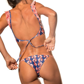 Crouch - Bikini - Mujer - Luanda - Peces Textura