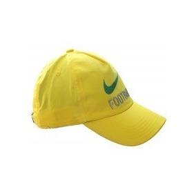 Boné Nike Brasil Amarelo - Bonés Nike para Masculino no Mercado ... 9accbd9a4b7
