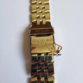 302a6881c60 Pulseira Breitling Aço - Relógios no Mercado Livre Brasil