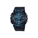 Reloj Casio G-shock Ga-100cb-1a Masculino Azul Deportivo