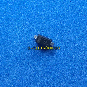 B5819w Diodo Sl 40v 1a Smd 1n5819w Sod123 (10 Unidades)