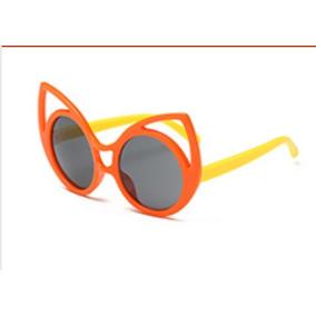 Óculos De Sol Infantil Olhos De Gato Cat Eyes Luxo Crianças ecff5de426