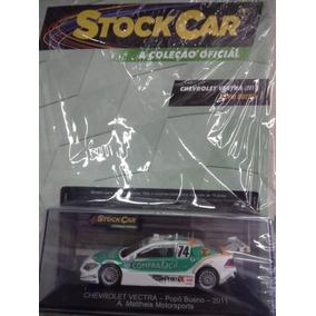 Coleção De Miniaturas Stock Car Nº 35 - Vectra Popó Bueno