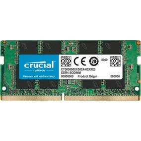 Memoria Notebook 16gb Ddr4 2400mhz Crucial Ct16g4sfd824a