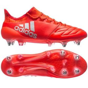 Chuteira Adidas X 16.1 Branco E Vermelho - Chuteiras no Mercado ... e8755fef70591