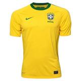 Camisa Brasil Nike Copa Do Mundo 2010 Original Amarela 8dbe19d717ffe
