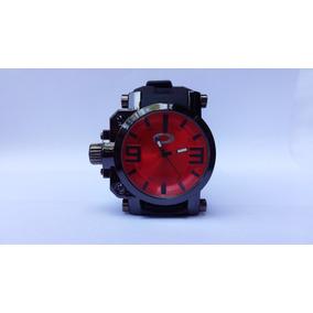 70fdcb335c9 Relogio Oakley - Fundo Vermelho Masculino - Relógios De Pulso no ...