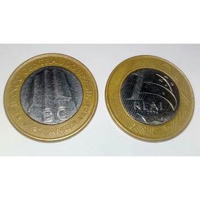 Moeda 1 Real - Comemorativa 40 Anos Banco Central