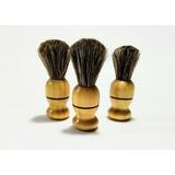 Brocha Para Afeitar / Rasurar De Barbero 100% Cerda Natural