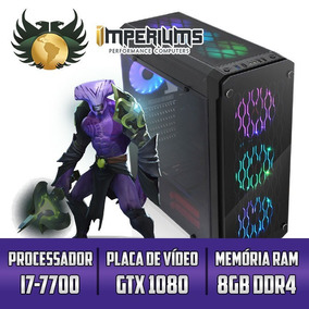 Computador Imperiums I7-7700, Gtx 1080 8gb, 8gb, Hd 1tb