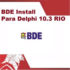 Bde Instalador Para Rad Studio Delphi 10.3 Rio