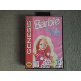 Barbie Super Model Sega Genesis