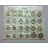 Monedas Uruguayas. Del 1976 Al 1978. Colección De 24 Monedas