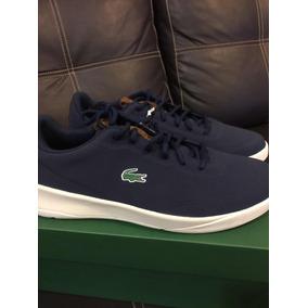 Tenis Lacoste Hombre 9 Americano Original Color Azul
