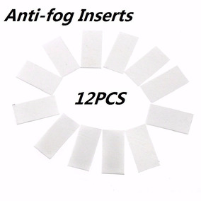 Kit Com 12 Pastilhas Anti Embaçantes Anti-fog Para Gopro