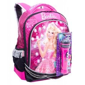 Mochila Grande Barbie Rock