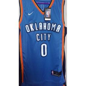 ec03b4d2f Camisa Oklahoma City Thunder Azul - Camisas no Mercado Livre Brasil