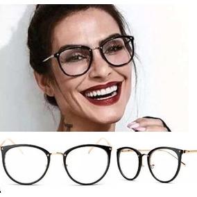 7c515fdbec164 Armação Oculos Grau Feminino Retrô Vintage Geek Gato Barato