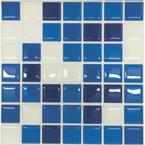 Pastilha Adesiva Resinada Misc.azul Kit 4 Placas P140clb
