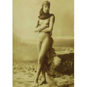 Nu Artístico Antigo Camponesa Egípcia 1885 - Edição 2016